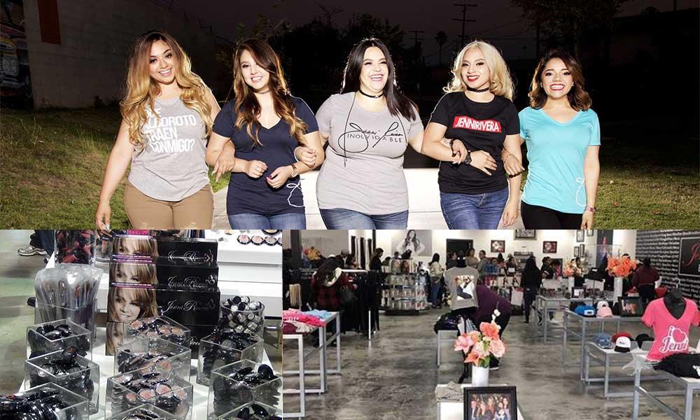 Inauguran segunda boutique Jenni Rivera Fashion en San Ysidro