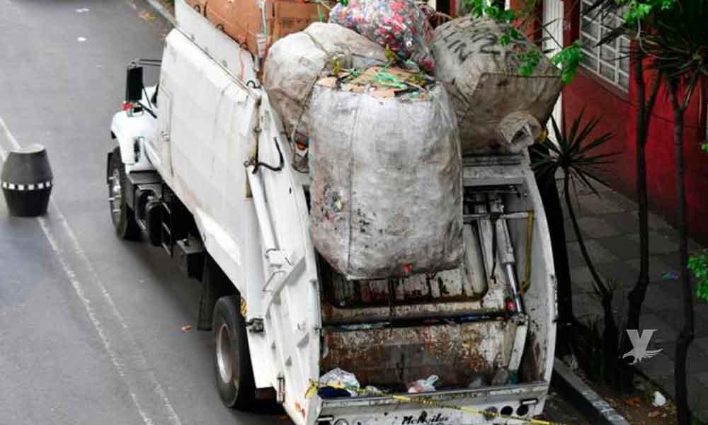 Adolescente muerto dentro del contenedor de camión recolector