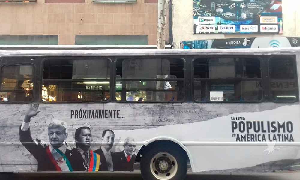 """Morena denuncia ante el INE la serie """"Populismo"""""""