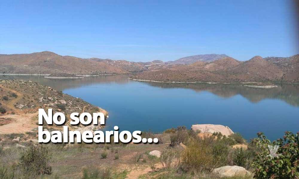 Está prohibido nadar en las presas, advierten autoridades de Tijuana