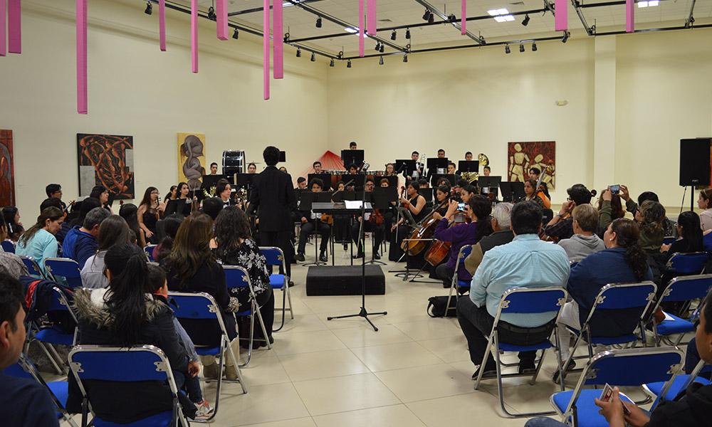 Se presentó la Sinfónica Juvenil de Tijuana en CEART Tecate