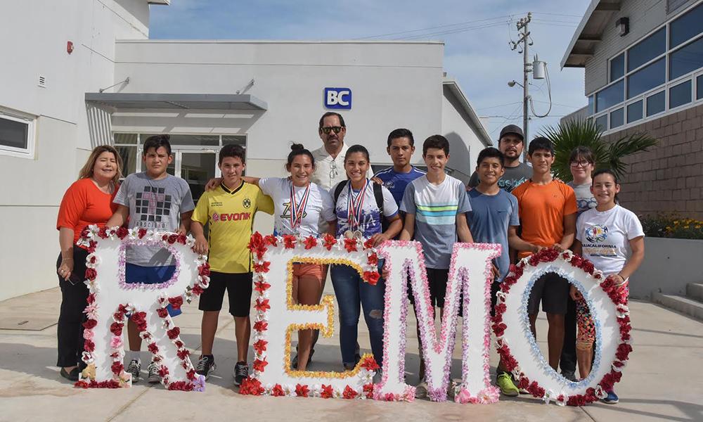 Regresan las representantes de remo cargadas de medallas a San Felipe