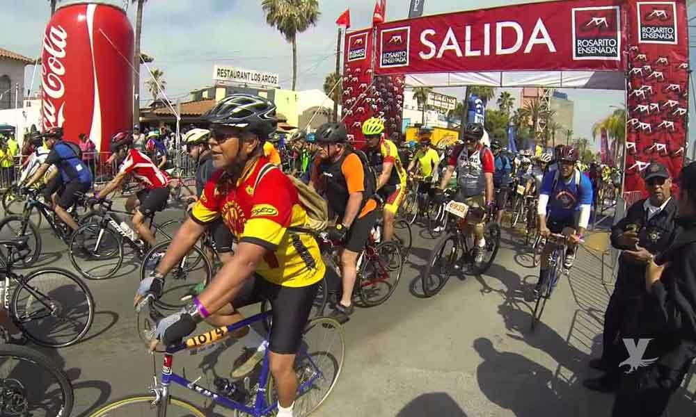 Paseo ciclista Rosarito-Ensenada ya tiene fecha