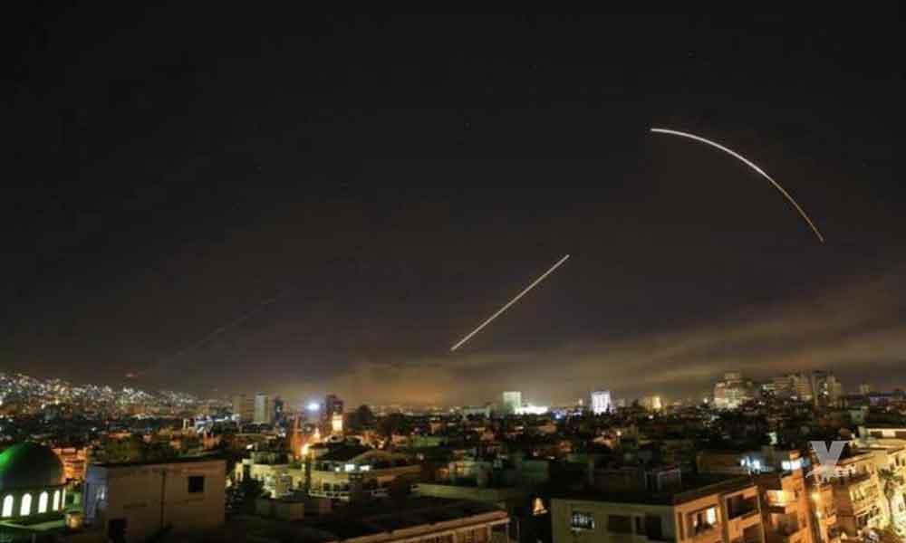 """""""Misión cumplida"""": fueron las palabras de Trump después del ataque a Siria"""