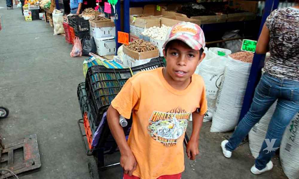 En México 2.5 millones de menores de edad tienen que trabajar