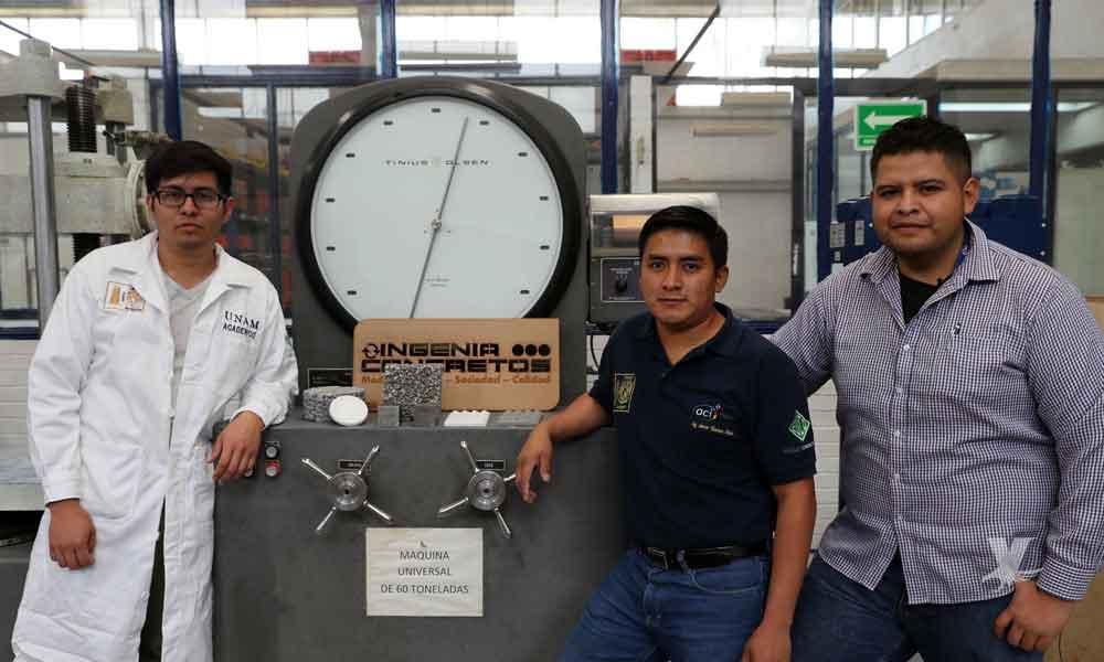 (VIDEO) Estudiantes de la UNAM crean concreto que purifica agua de lluvia y aire