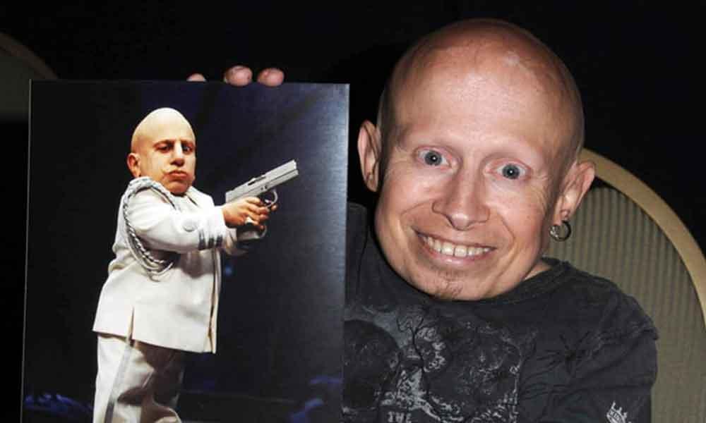 Fallece Verne Troyer, actor de Mini-me en Austin Powers