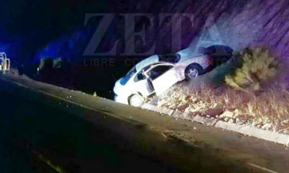 Dos menores heridos y un adulto muerto tras ataque armado en carretera Ensenada-Tecate