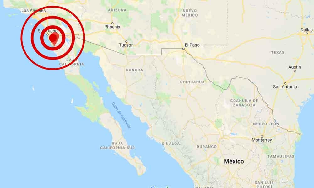 Se registra sismo en Ensenada