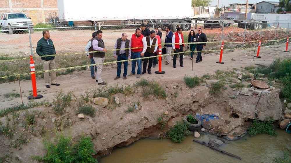 Supervisa Conagua trabajos de saneamiento del Río Tijuana