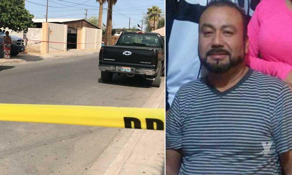 Cuerpo enterrado vivienda de Mexicali si pertenece a Ángel García