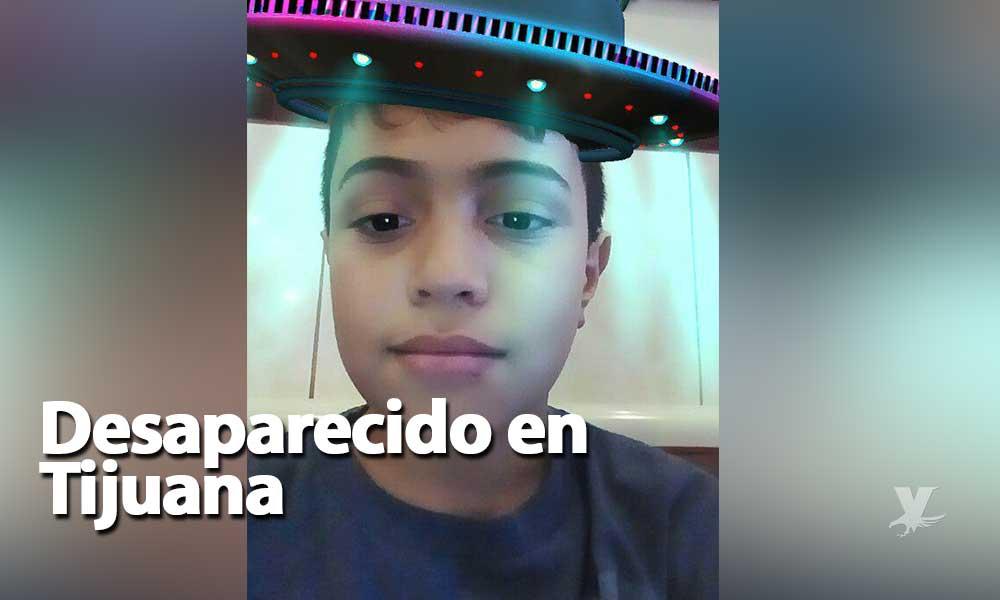 ¡Ayuda! Issac de 12 años se encuentra desaparecido en Tijuana; su madre lo corrió de su hogar