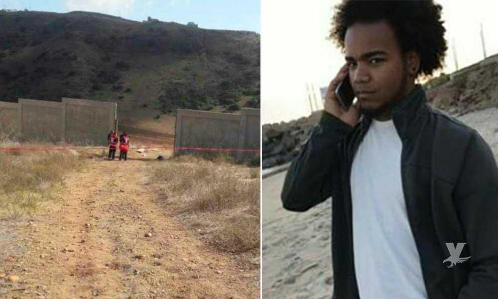 Localizan sin vida y con huellas de violencia a joven desaparecido en Rosarito