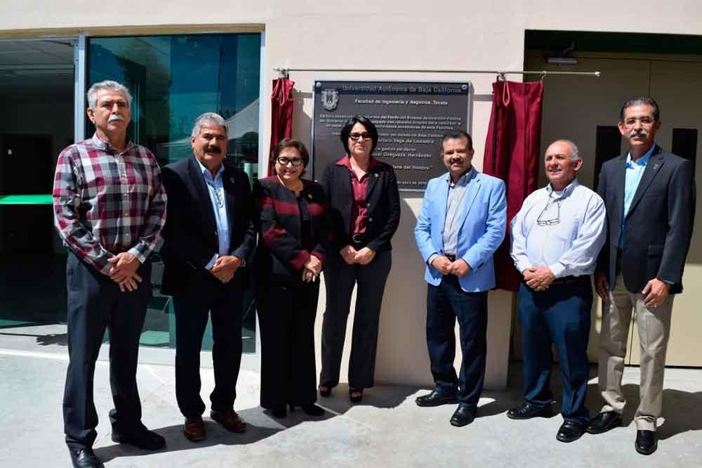 Inaugura UABC edificio en la Facultad de Ingeniería y Negocios Tecate