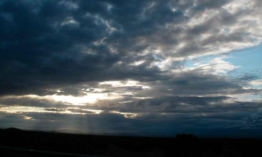 Cielo nublado y vientos fuertes para hoy en Baja California