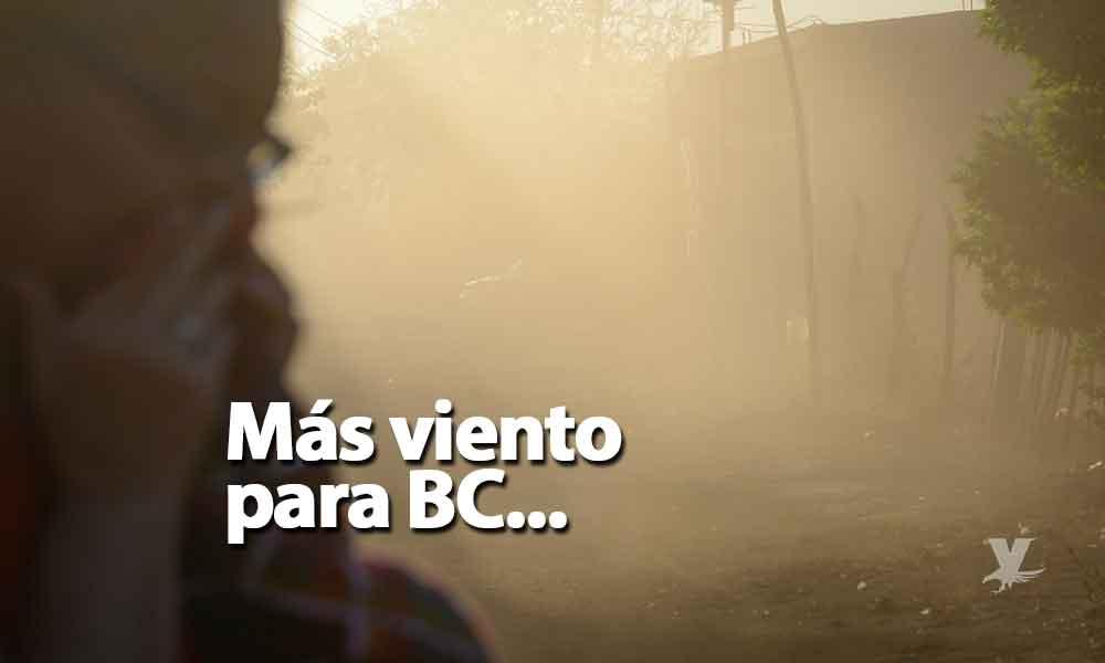 Jueves con ambiente fresco, viernes con vientos hasta 60 kilómetros por hora en Baja California