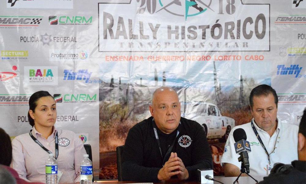 Anuncian IV Rally Histórico Ensenada-Cabos San Lucas