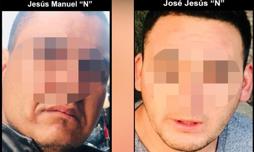 Aseguran en Tijuana a dos sujetos uno es oficial de Rosarito con armas de fuego