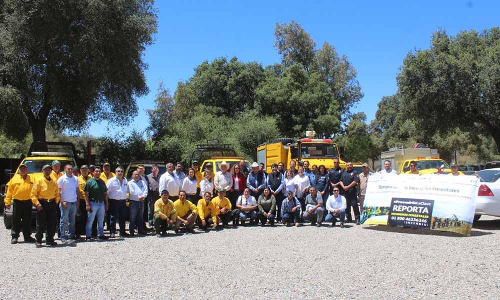Arranca operativo contra incendios forestales en Baja California