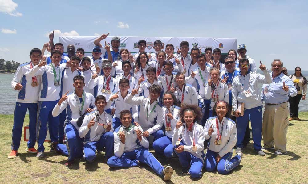 Baja California es Campeón Nacional en remo