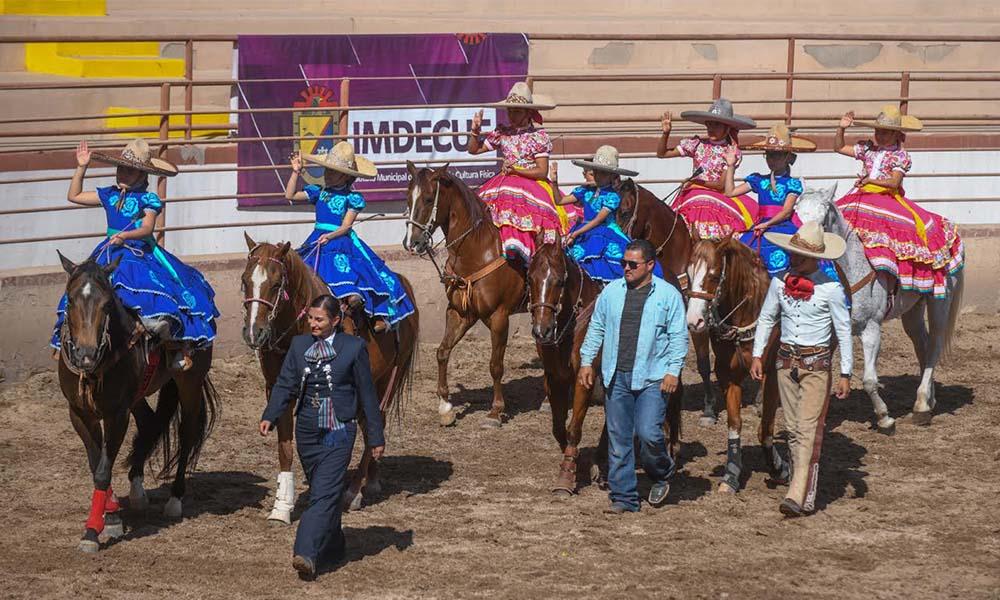 Celebran el aniversario LIX de la Asociación de Charros de Mexicali