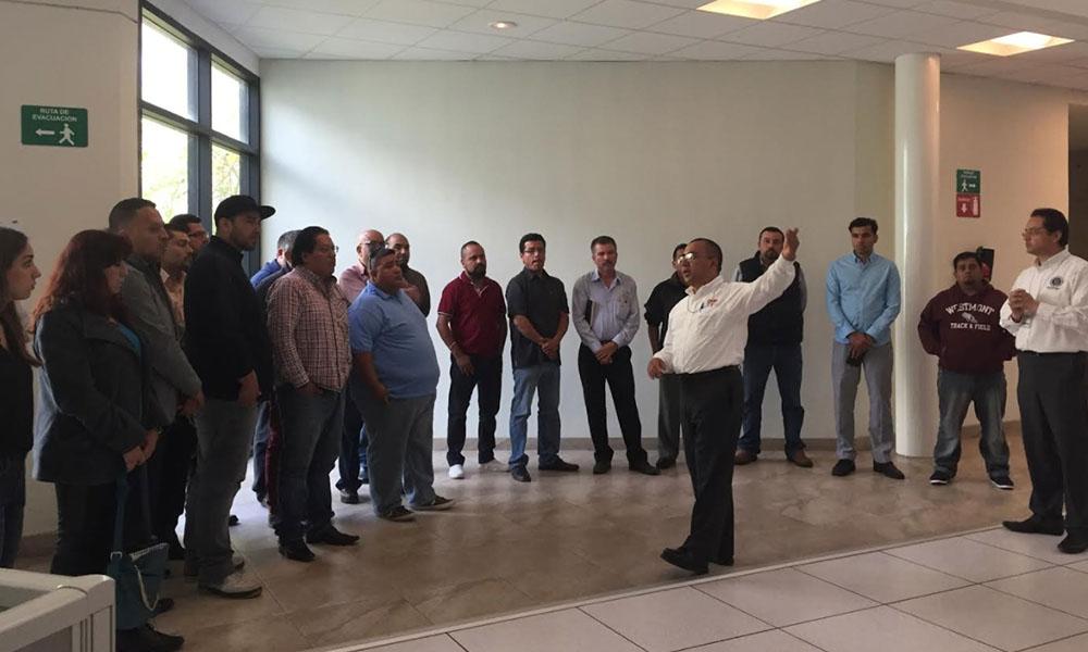 Conductores de Uber conocen operatividad de C4 Tijuana