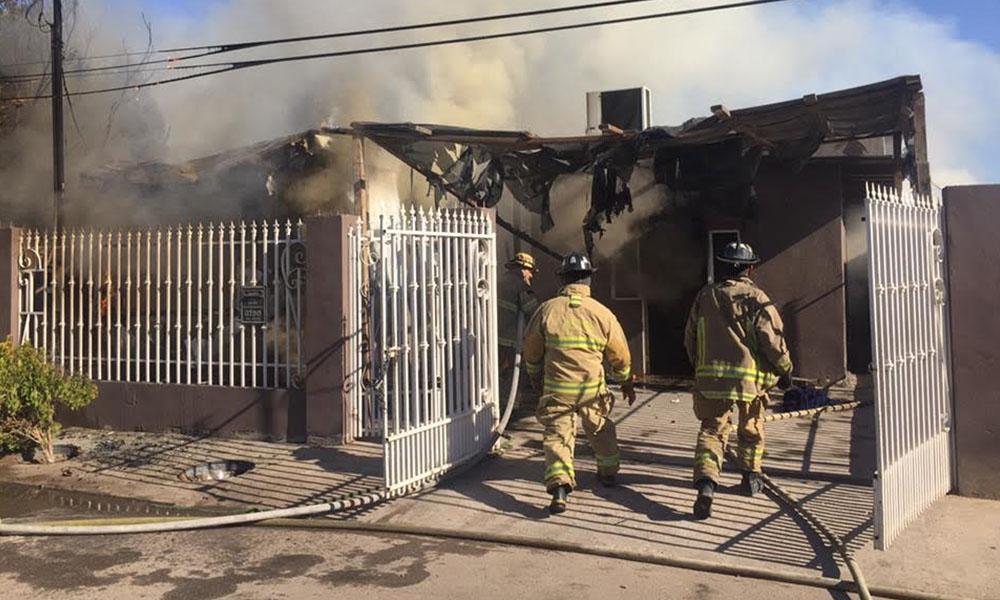 Emiten recomendaciones para evitar incendios en el hogar en Mexicali