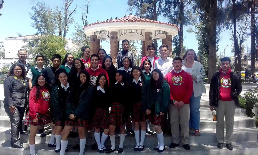 Imparten seminario de sensibilización turística a jóvenes tecatenses