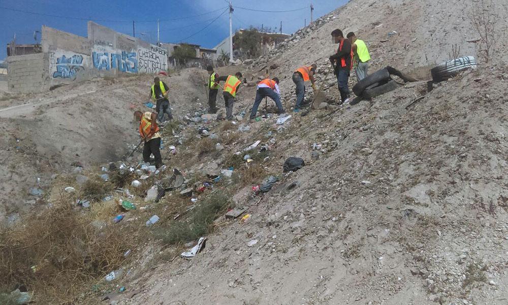 Infractores recolectan más de 7 toneladas de basura en Tijuana