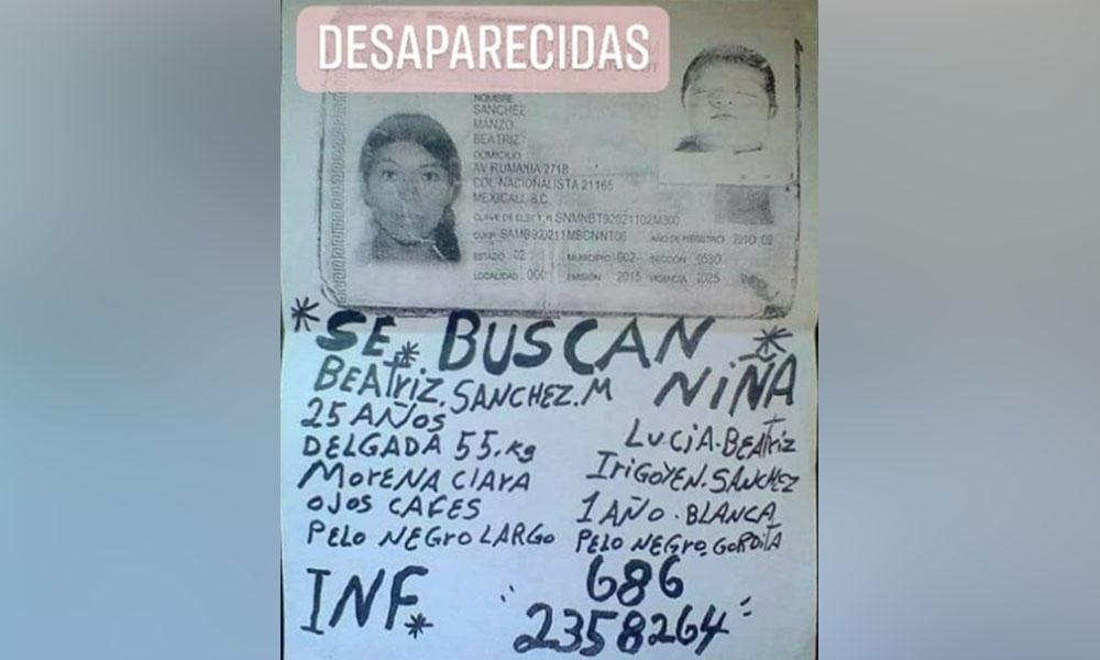 Padre desesperado busca a hija con enfermedad mental en Mexicali