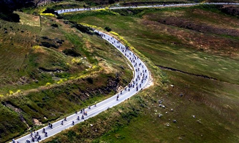 Todo listo para el paseo ciclista Ruta del vino