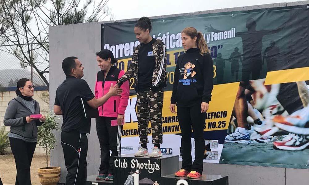 """Realiza Academia de Seguridad Pública del Estado carrera atlética """"Apoyo al Talento"""" en Tecate"""