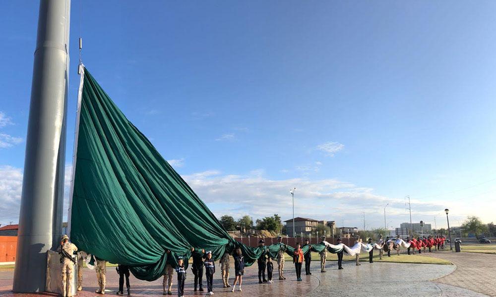 Rehabilitan Plaza Centenario en Mexicali