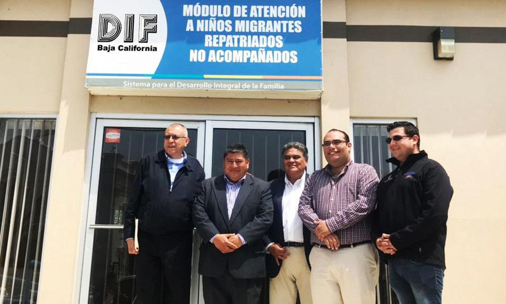 Visitó el embajador de Guatemala el Módulo de Atención a Niños y adolescentes Migrantes en Baja California