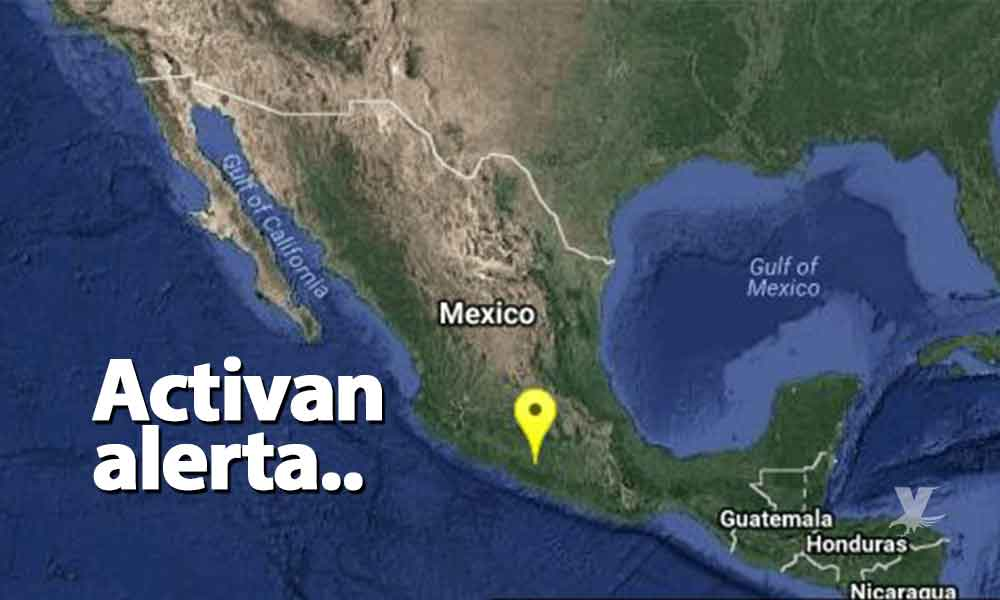 Activan alerta sísmica en CDMX por sismo de magnitud 5.3 en Guerrero