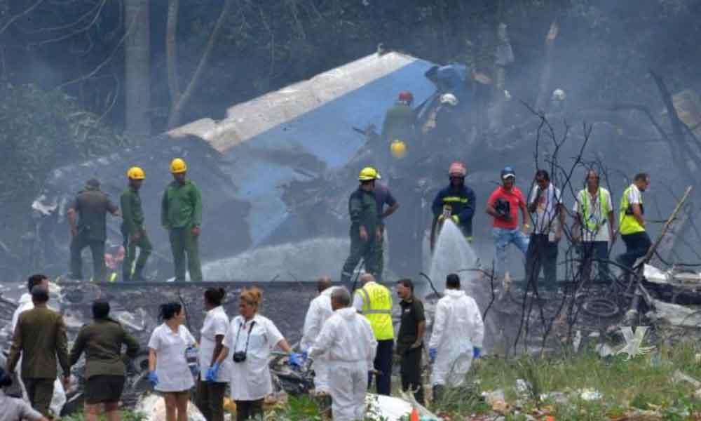 ¡Tragedia! Avión Boeing 737 cayó en Cuba con 113 personas a bordo