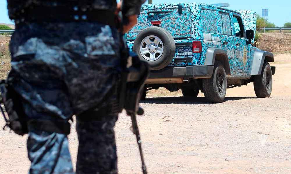 Elementos de la Policía Federal son atacados por comando armado que tenían reten falso