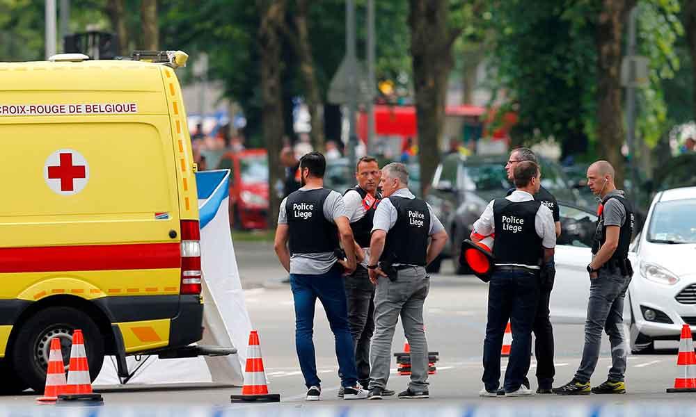 (VIDEO) Presunto terrorista asesina a 2 policías, es abatido minutos después en Bélgica