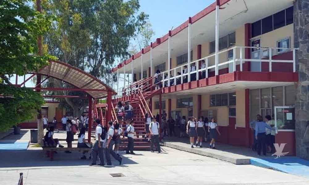 Alumno que amenazó con realizar un tiroteo dentro del Cbtis 21 en Mexicali fue suspendido