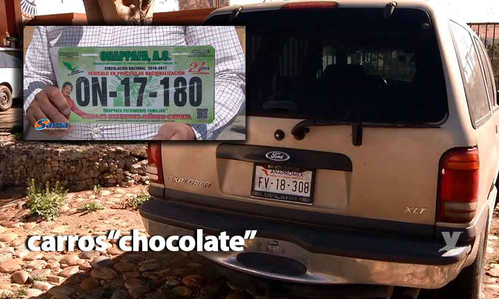 Senado rechaza regularización de 'Autos Chocolate' para el 2020