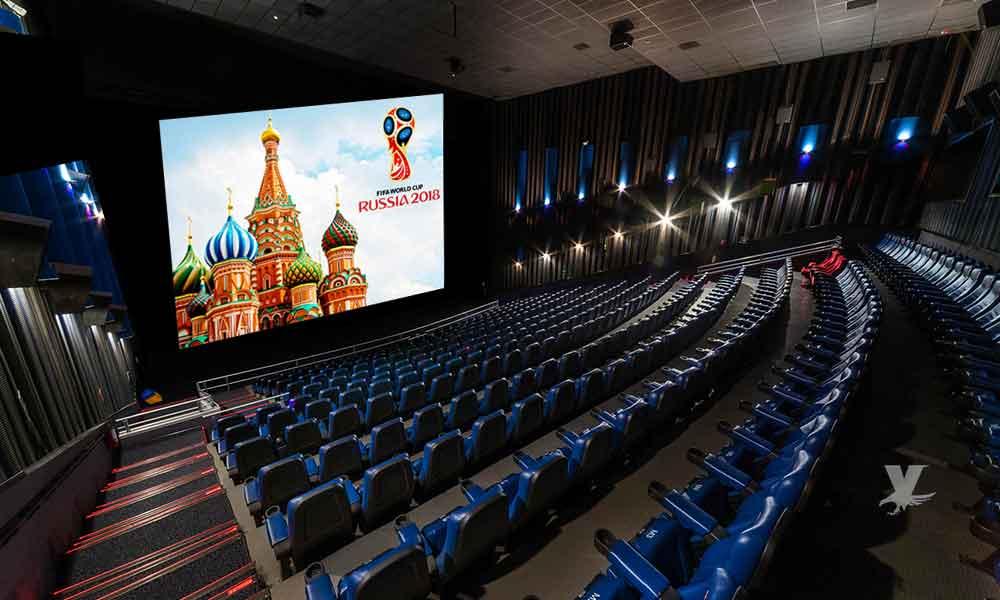 Cinépolis proyectará los partidos del mundial en sus salas