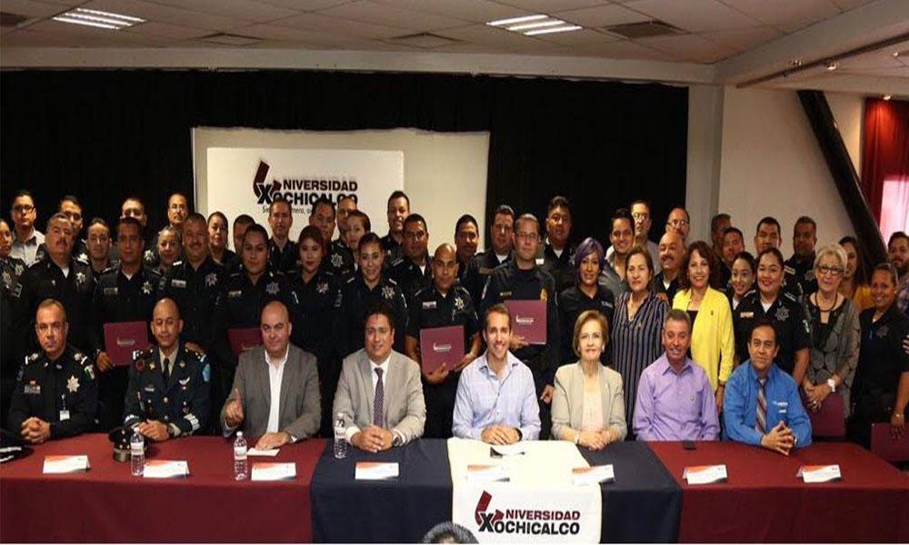 Concluyen agentes municipales diplomado en formación profesional policial en Mexicali