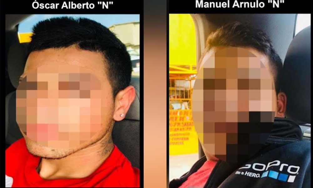 Detienen a dos a presuntos homicidas en Tijuana