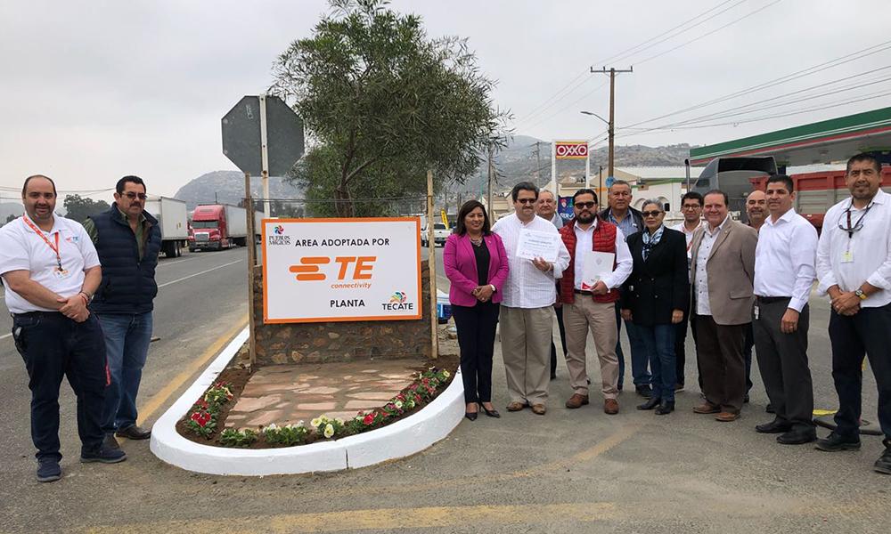 Empresa Deutsch Servicios, se suma al cuidado del medio ambiente y adopta área verde en Tecate