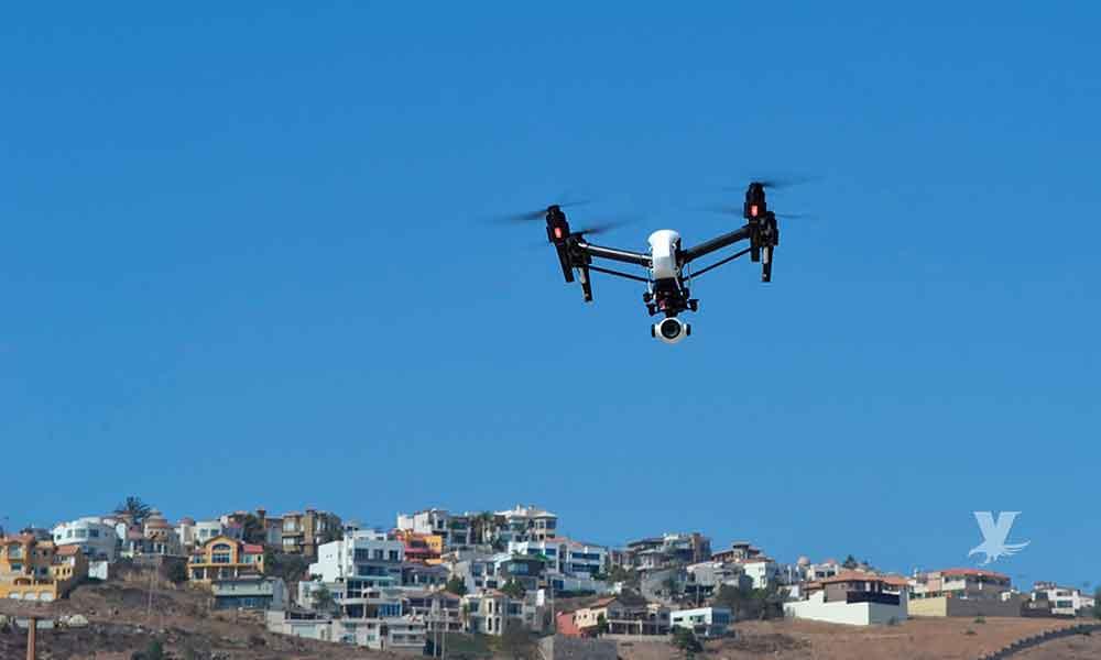 Ensenada será vigilada desde el aire, dos drones donados por USA para Policía Municipal