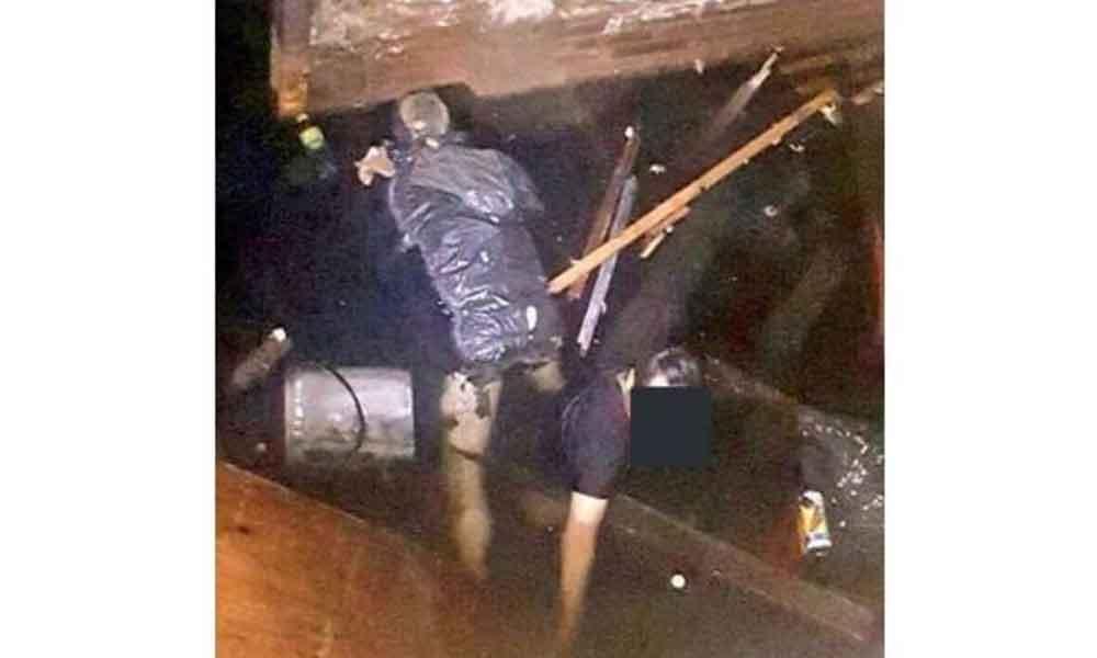 Hombre cayó dentro del cubo del elevador; durante el rescate encontraron otro cuerpo