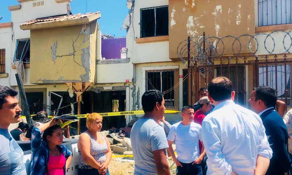 Ayuntamiento de Tijuana apoyará a víctimas de explosión en Villas del Campo