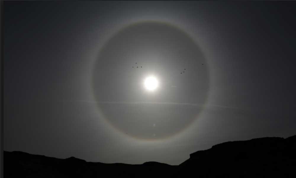 Extraño halo de luz llamó la atención de miles de personas