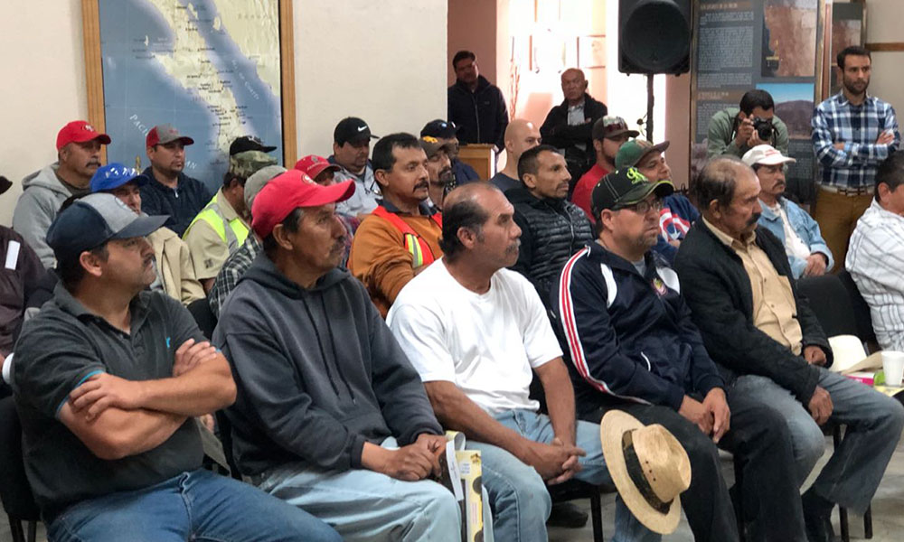 Imparten curso de cultura forestal a empleados de Parques y Jardines del Ayuntamiento de Tecate
