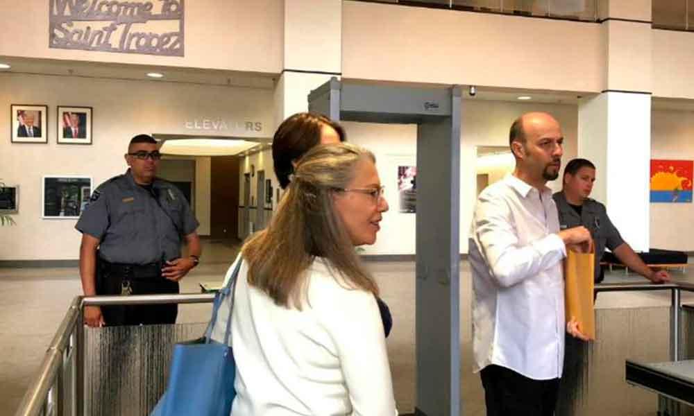 Sale de prisión libre bajo fianza Esteban Loaiza